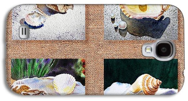 Seashell Collection I Galaxy S4 Case by Irina Sztukowski