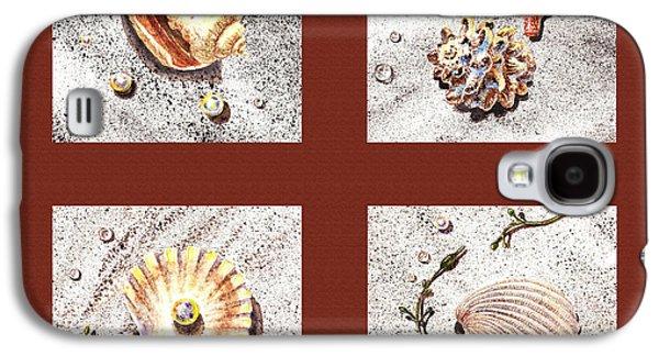 Seashell Collection Iv Galaxy S4 Case by Irina Sztukowski