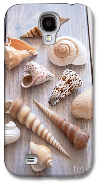 Seashell Collection Galaxy S4 Case by Jan Bickerton