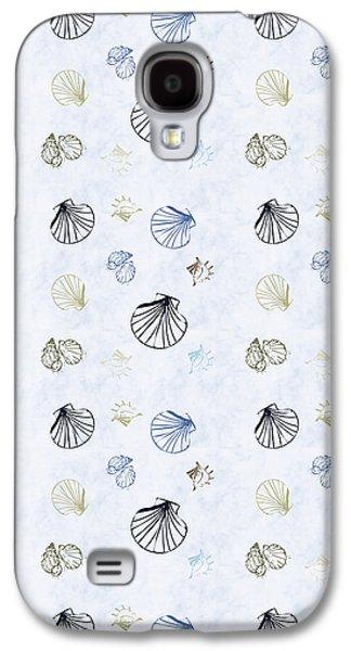 Seashell Pattern Galaxy S4 Case