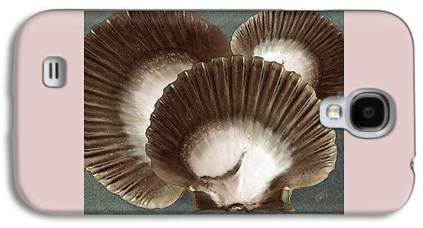 Seashells Spectacular No 22 Galaxy S4 Case by Ben and Raisa Gertsberg