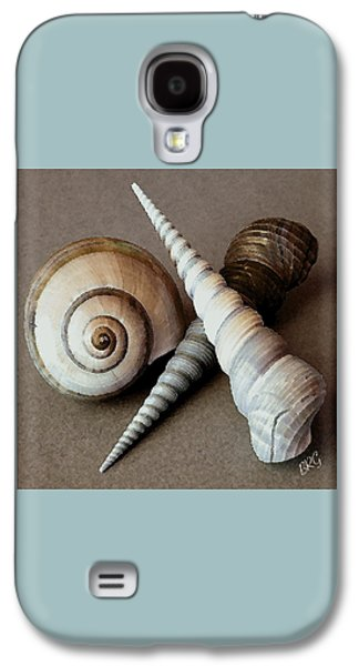 Seashells Spectacular No 24 Galaxy S4 Case by Ben and Raisa Gertsberg