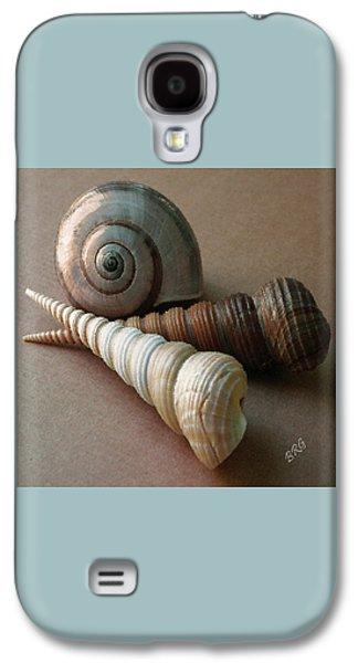 Seashells Spectacular No 29  Galaxy S4 Case by Ben and Raisa Gertsberg
