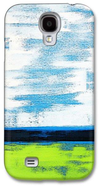 Seaside - Abstract Modern Art By Sharon Cummings Galaxy S4 Case
