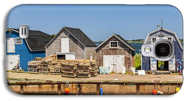 Seaside Dock Of Prince Edward Island Galaxy S4 Case by Elena Elisseeva