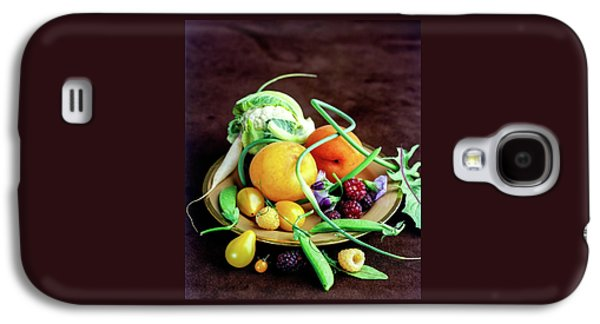 Seasonal Fruit And Vegetables Galaxy S4 Case by Romulo Yanes
