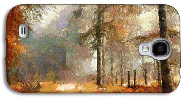 Seasons Come Seasons Go Galaxy S4 Case by Georgiana Romanovna