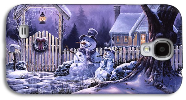 Season's Greeters Galaxy S4 Case by Michael Humphries