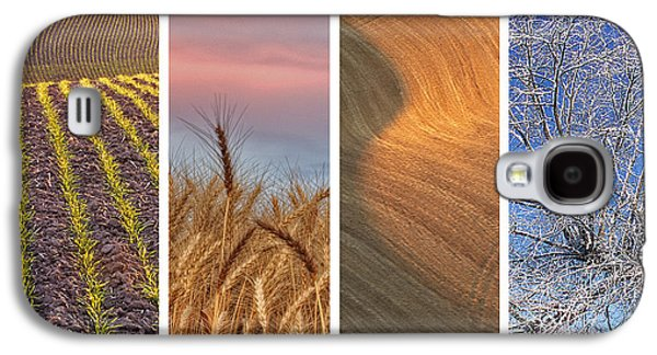 Seasons Of The Palouse Galaxy S4 Case by Latah Trail Foundation