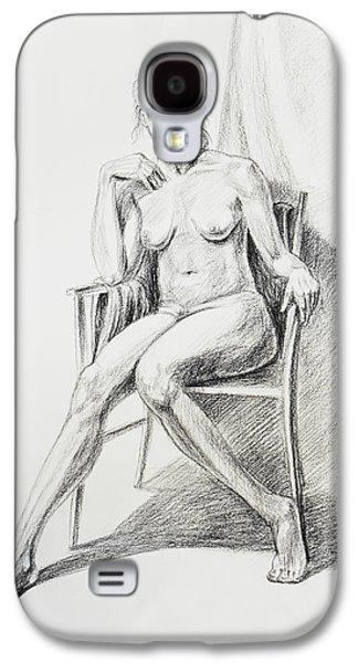 Seated Nude Model Study Galaxy S4 Case by Irina Sztukowski