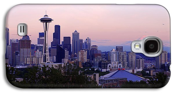 Seattle Galaxy S4 Case - Seattle Dawning by Chad Dutson