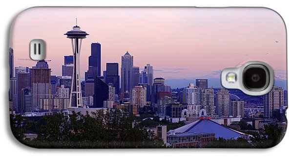 Downtown Galaxy S4 Case - Seattle Dawning by Chad Dutson