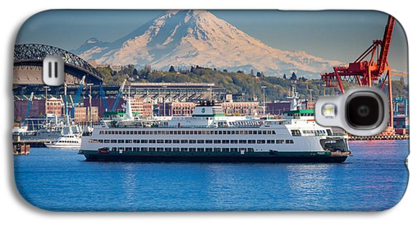 Seattle Harbor Galaxy S4 Case by Inge Johnsson