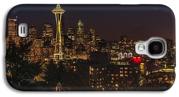 Seattle Night Lights Galaxy S4 Case