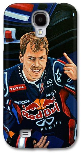 Sebastian Vettel Galaxy S4 Case by Paul Meijering