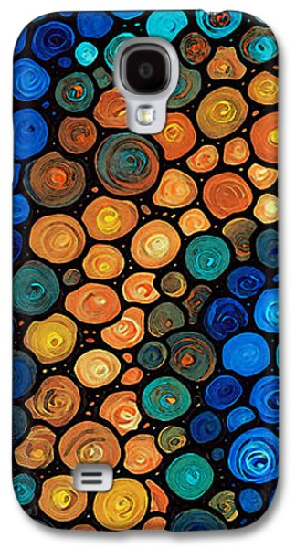 Second Chances - Abstract Art By Sharon Cummings Galaxy S4 Case by Sharon Cummings