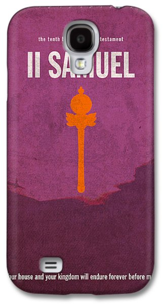 Second Samuel Books Of The Bible Series Old Testament Minimal Poster Art Number 10 Galaxy S4 Case