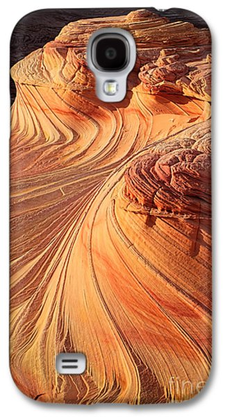 Second Wave Flow Galaxy S4 Case by Inge Johnsson