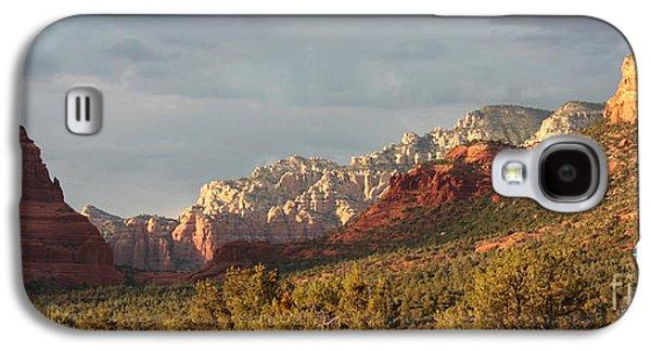 Desert Galaxy S4 Case - Sedona Sunshine Panorama by Carol Groenen