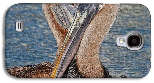 Eye 2 Eye - Heart 2 Heart - Brown Pelican Galaxy S4 Case