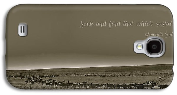 Seek And Find Galaxy S4 Case by Amanda Smith