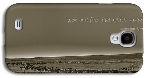 Seek And Find Galaxy S4 Case by Amanda Smith