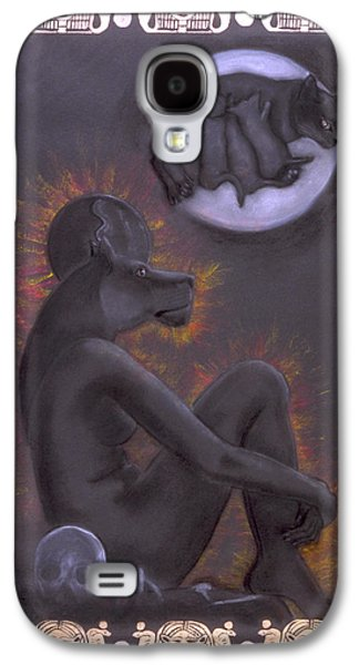 Sekhmet And Bastet Galaxy S4 Case
