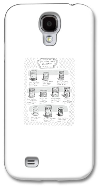 Selections From The Sliced Peach Collection Galaxy S4 Case