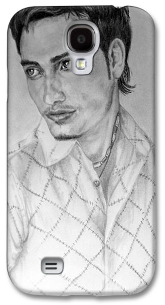 Self Portrait Galaxy S4 Case by Alban Dizdari