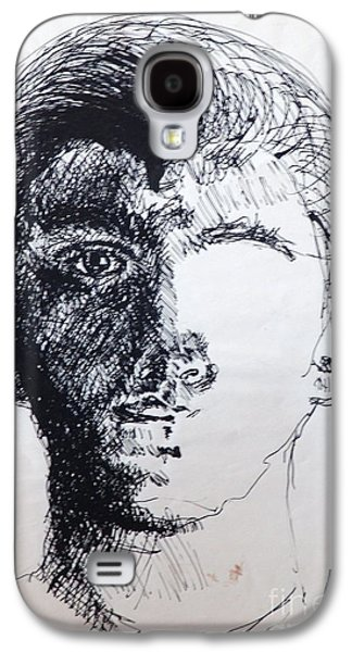 Self Portrait At 21 Galaxy S4 Case by Rod Ismay
