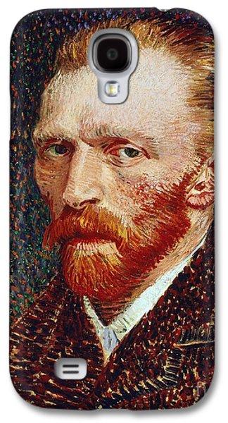 Self-portrait Galaxy S4 Case by Vincent van Gogh