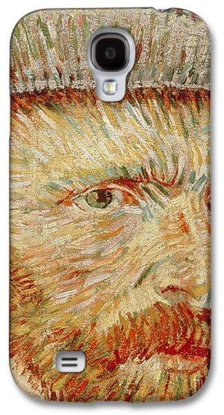 Self-portrait With Hat Galaxy S4 Case by Vincent van Gogh