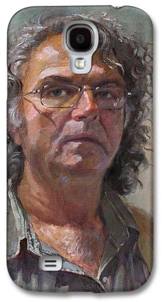 Self Portrait Galaxy S4 Case by Ylli Haruni