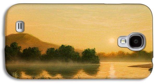 Seminole Sunset Galaxy S4 Case by Jerry LoFaro