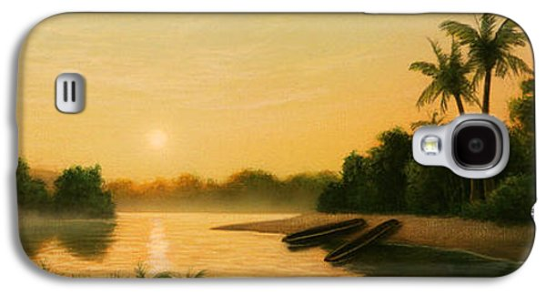 Seminole Sunset Galaxy S4 Case by Jerry LoFaro