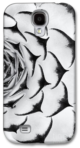 Sempervivum Pattern Monochrome Galaxy S4 Case by Tim Gainey
