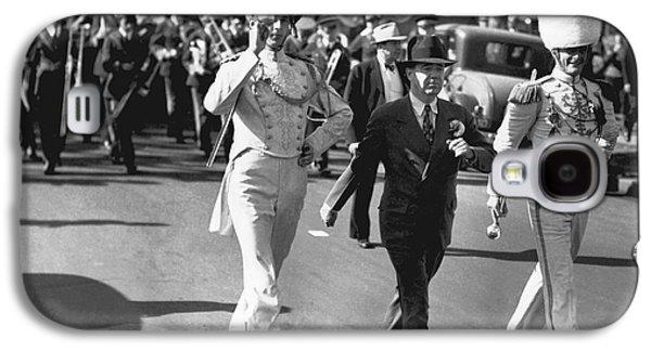 Senator Huey Long In Parade Galaxy S4 Case