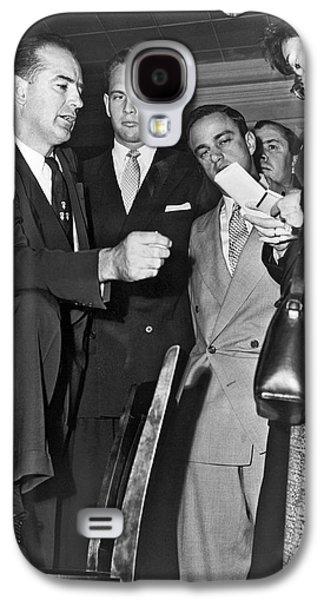 Senator Joseph R. Mccarthy Galaxy S4 Case by Underwood Archives