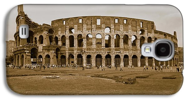Sepia Image Of The Colosseum Or Roman Galaxy S4 Case