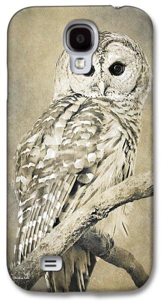 Sepia Owl Galaxy S4 Case