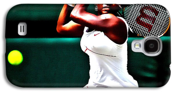 Serena Williams Galaxy S4 Case - Serena Williams 3a by Brian Reaves