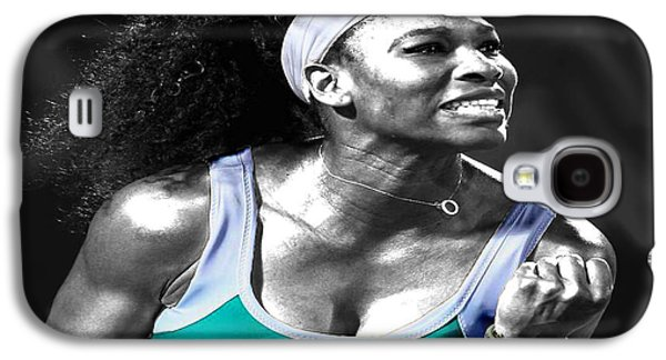 Serena Williams Galaxy S4 Case - Serena Williams Ace by Brian Reaves
