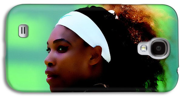 Serena Williams Match Point Galaxy S4 Case by Brian Reaves