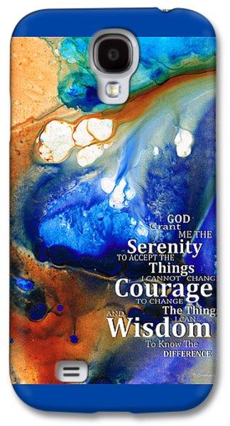 Serenity Prayer 4 - By Sharon Cummings Galaxy S4 Case