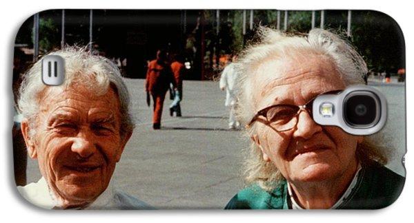 Sergei And Cecilia Gaposchkin Galaxy S4 Case by Emilio Segre Visual Archives/american Institute Of Physics