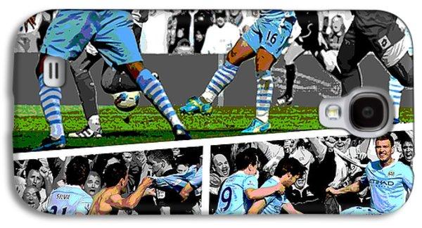 City Galaxy S4 Case - Sergio Aguero Goal Vs Qpr by Pro Prints