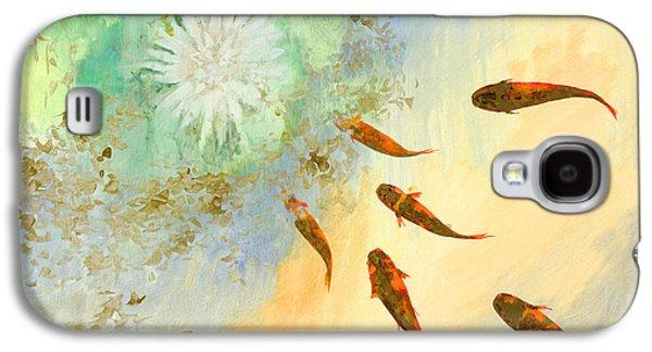 Sette Pesciolini Verdi Galaxy S4 Case