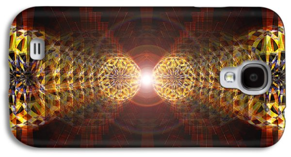 Seven Sacred Steps Of Light Galaxy S4 Case by Derek Gedney