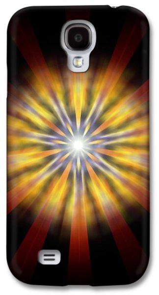 Seven Sistars Of Light Galaxy S4 Case by Derek Gedney