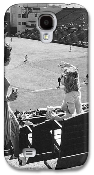 Sf Giants Fans Cheer Galaxy S4 Case by Underwood Archives